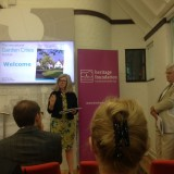Dr Susan Parham at the launch of Garden Cities - Why Not?