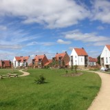 Houses fronting green areas, Derwenthorpe