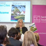 Dr Susan Parham at the launch of Garden Cities - Why Not at the Institute
