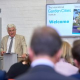 Keith Boyfield at the launch of Garden Cities - Why Not at the Institute