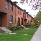 Windsor Walkerville houses - Canada